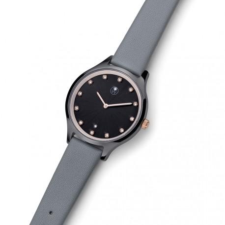 Dámské náramkové hodinky Oliver Weber Speak - 65060 (rosegold / crystal, grey)