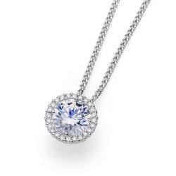 Stříbrný přívěsek Oliver Weber Triumph - 61138 - Ag925 (crystal)