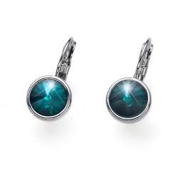 Náušnice Oliver Weber Young - 22729 (emerald)