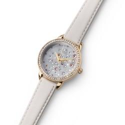 Dámské náramkové hodinky Oliver Weber Stars - 65057 (leatherstrap white)