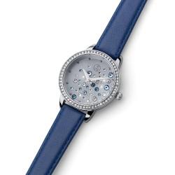 Dámské náramkové hodinky Oliver Weber Stars - 65057 (leatherstrap blue)