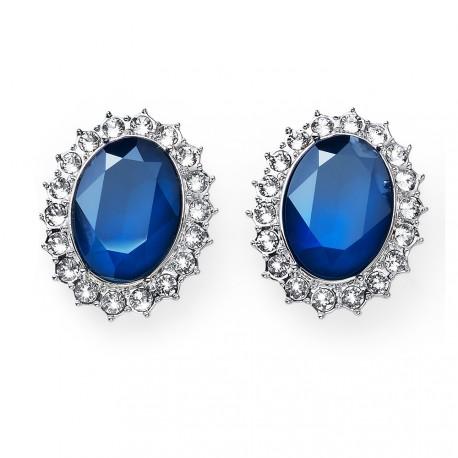 Náušnice Oliver Weber Regal - 22766 (blue)