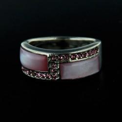 Stříbrný prsten R116