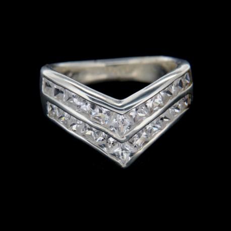 Stříbrný prsten R120