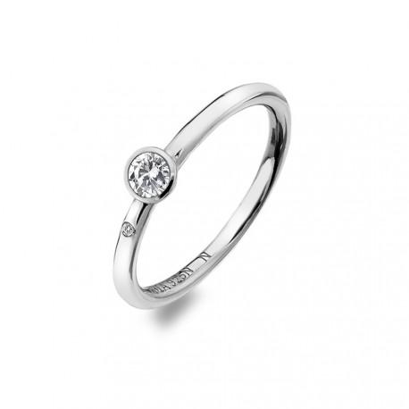Stříbrný prsten Hot Diamonds Willow DR206