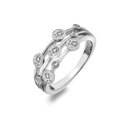 Stříbrný prsten Hot Diamonds Willow DR207