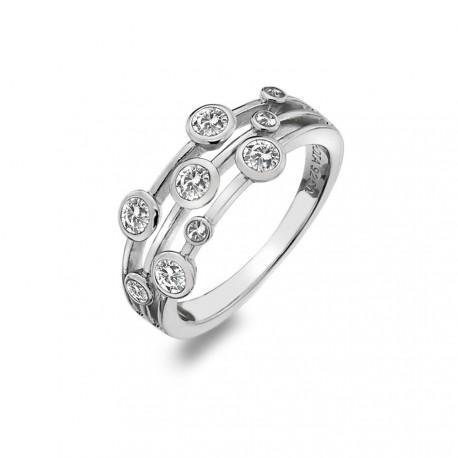 Stříbrný prsten Hot Diamonds Willow DR207