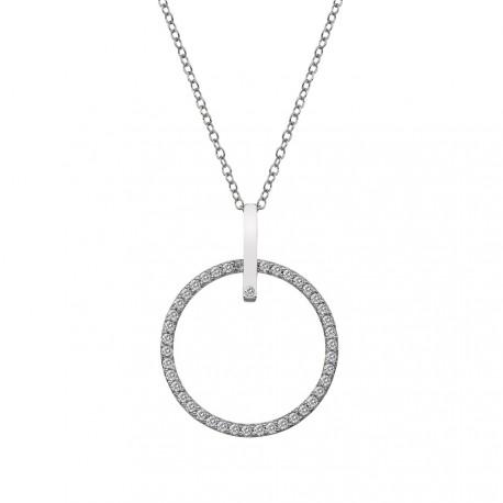 Stříbrný přívěsek Hot Diamonds Flora 25 DP718