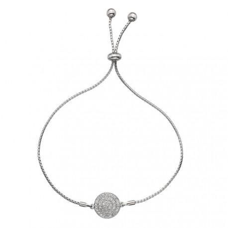 Stříbrný náramek Hot Diamonds Flora DL578