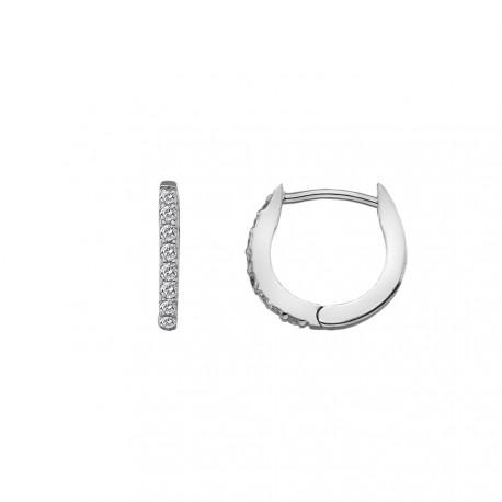 Stříbrné náušnice Hot Diamonds Flora DE581