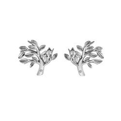 Stříbrné náušnice Hot Diamonds Jasmine DE565