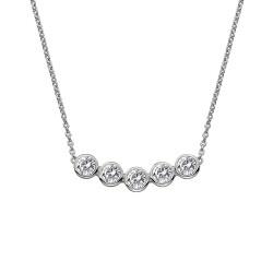 Stříbrný náhrdelník Hot Diamonds Willow DN129