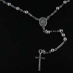 Stříbrný náhrdelník B721