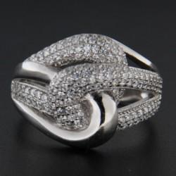 Stříbrný prsten R2243