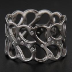 Stříbrný prsten R2211