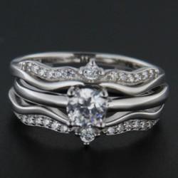 Stříbrný prsten R2241
