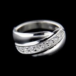 Stříbrný prsten R546