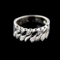 Stříbrný prsten R564