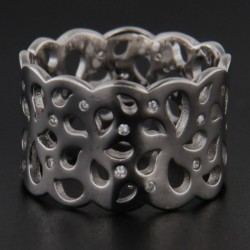 Stříbrný prsten R2212