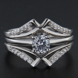 Stříbrný prsten R2236