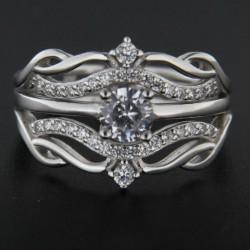 Stříbrný prsten R2244