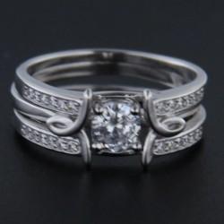 Stříbrný prsten R2245