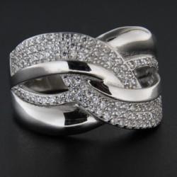 Stříbrný prsten R2227