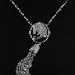 stříbrný náhrdelník B725