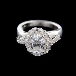 Stříbrný prsten R217