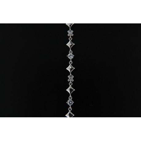 Stříbrný náramek B712