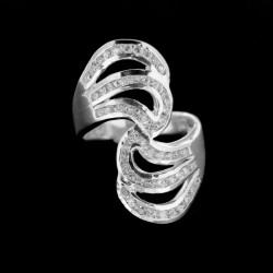 Stříbrný prsten R216