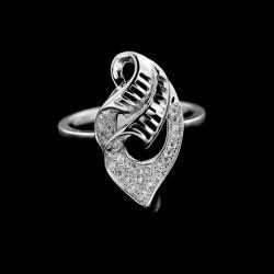 Stříbrný prsten R375
