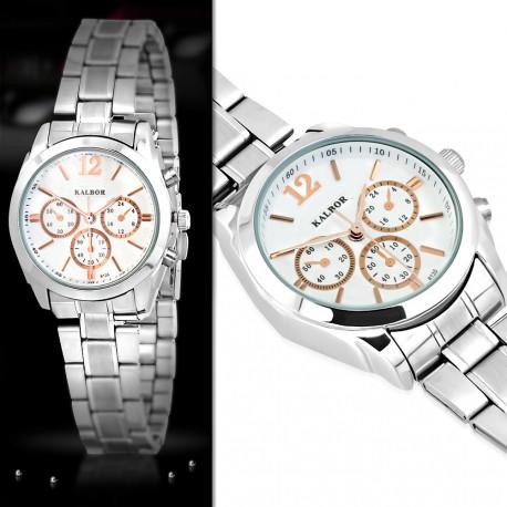 Dámské ocelové hodinky