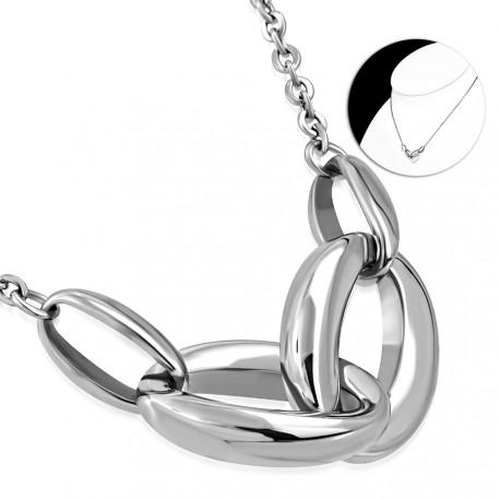 Elegantní náhrdelník Connected