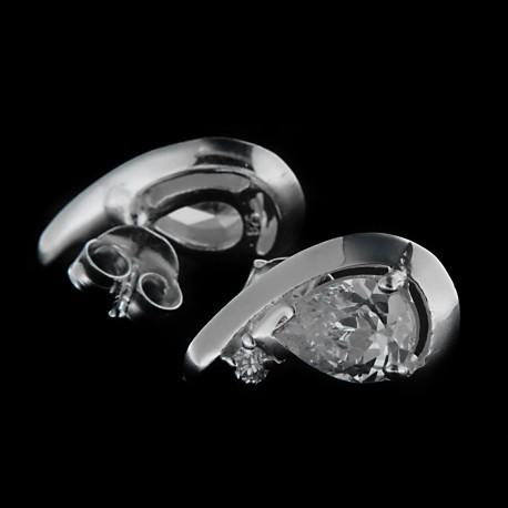 Stříbrné náušnice E779
