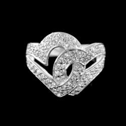 Stříbrný prsten R700