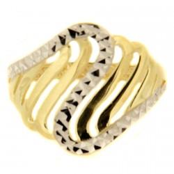 Zlatý prsten AZDC2749