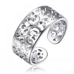 Dámský stříbrný prsten Spring
