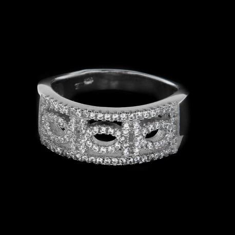 Stříbrný prsten S182R