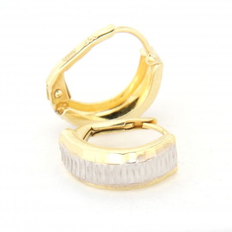 Zlaté náušnice E10332-1060