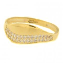 Zlatý prsten PPY0043