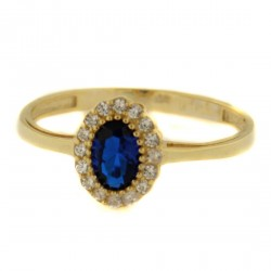 Zlatý prsten PKY0055BL