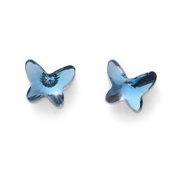 Náušnice Oliver Weber Farfallina - 22794 (denim blue)