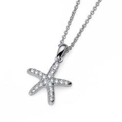 Přívěsek Oliver Weber Starfish - 11897 (crystal)