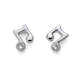 Náušnice Oliver Weber Music double - 22771 (crystal)