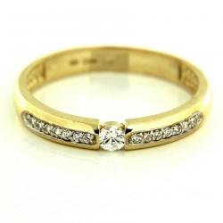 Zlatý prsten PYZ2845