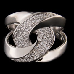 Stříbrný prsten R2305