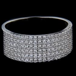 Stříbrný prsten R2306