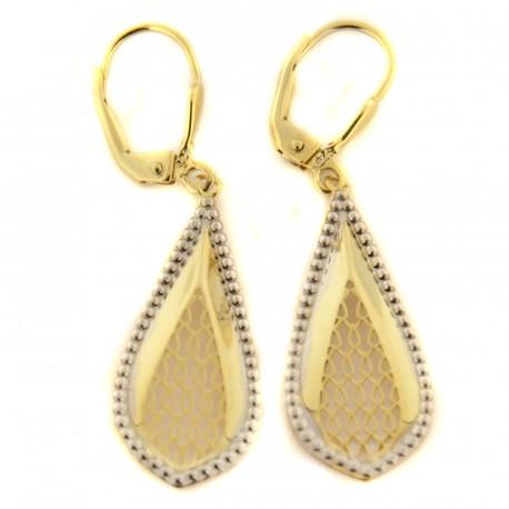 Zlaté náušnice E10156-2559