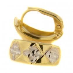 Zlaté náušnice E10350-06801